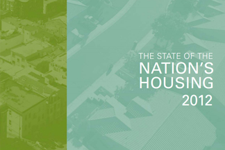 "cover page of ""the state of the nation's housing 2012"""
