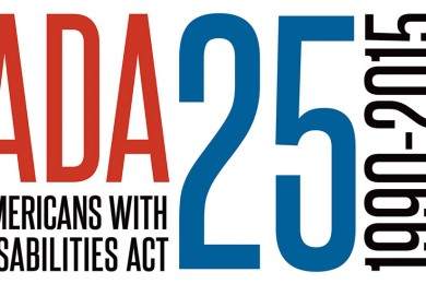 americans with disabilities act 26 year anniversary banner