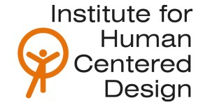 Institute for Human Centered Design (IHCD) text logo