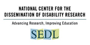 National Center for the Dissemination of Disability Research (ncddr) logo