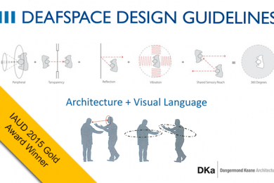 concept diagrams from deafspace design guidelines