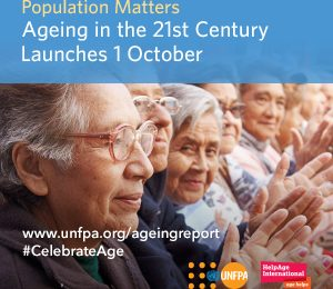 Ageing in the twenty-first century report cover page