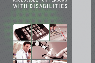 mobile phones and technology for people with disabilities on the cover page of the mobile phone report