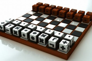 chess board game for people with low vision