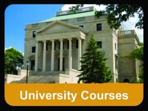 university courses button
