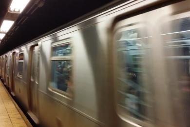 moving subway