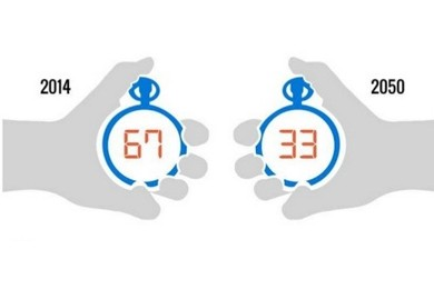 hands holding stop watches infographic