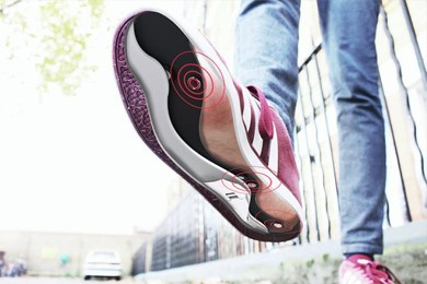 underside of path feel insoles