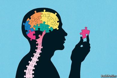 illustration of autistic people