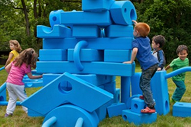 Imagination Playground Big Blue Blocks