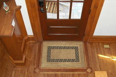 entry mat in owens home