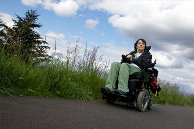 Georgena Moran is the founder of Access Recreation, a group dedicated to giving hikers with disabilities the crucial information they need to get out onto Pacific Northwest trails. (Jamie Hale/The Oregonian)