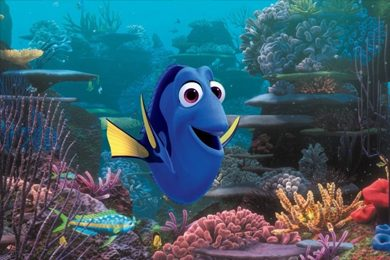 "Dory (voiced by Ellen DeGeneres) in a scene from ""Finding Dory."" (Pixar/Disney via Associated Press)"