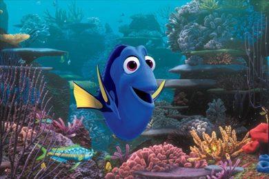 "Dory (voiced by Ellen DeGeneres) in a scene from ""Finding Dory."" (Pixar/Disney via Associated Press)"