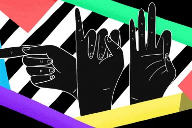 sign language graphic