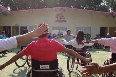 wheelchair workshop warm up