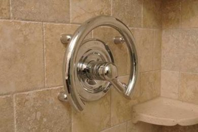 decorative grab bar