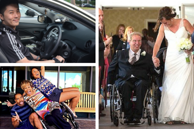 collage of people with disabilities