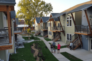 co-housing community