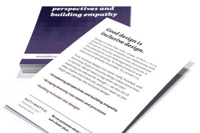 Photo of the book; perspectives and building empathy