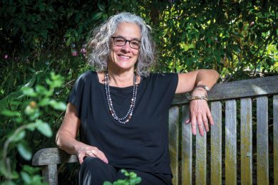 Photo features Lainey Feingold, a disability rights lawyer