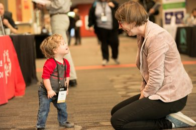 Max, Age 2, Youngest attendee of Ability Summit