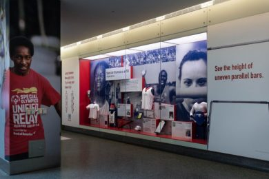 """Special Olympics at 50"" is now on display at the National Museum of American History in Washington"