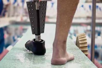 The prosthetic leg, called the Fin