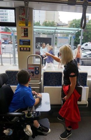 A new TTC program includes plans to design and implement the agency's first-ever travel training program. Photo: Toronto Transit Commission