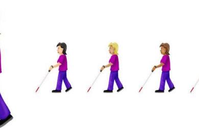 Blind emojis