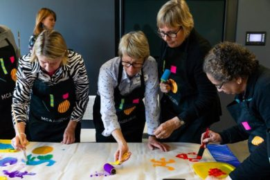 Australia's Museum of Contemporary Art created an art therapy programme called Artful.
