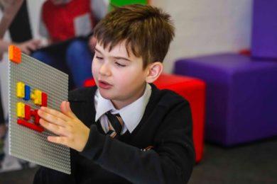 Lego's Braille Bricks will help visually impaired children learn Braille through play.