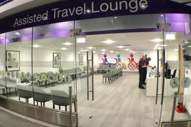 Assisted Travel Lounge