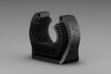 Ikea's 3D-printed wrist support for gamers.
