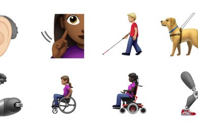 Apple has introduced disability-themed emojis to be released in Fall 2019