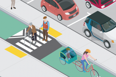 A new instruction guide developed by Walk SF and others shows how to make sure protected infrastructure doesn't encumber or endanger the disabled.