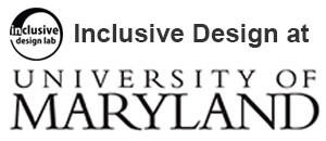 Inclusive Design at Maryland's HCIL