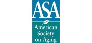 American Society on Aging logo