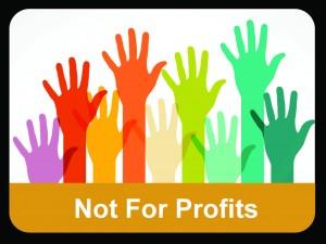 not for profit button