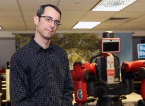 Professor Aaron Steinfeld of Carnegie Mellon University's Robotics Institute